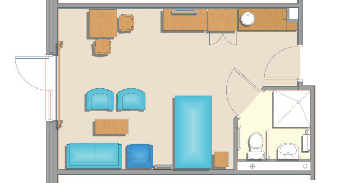 ICHC room plan